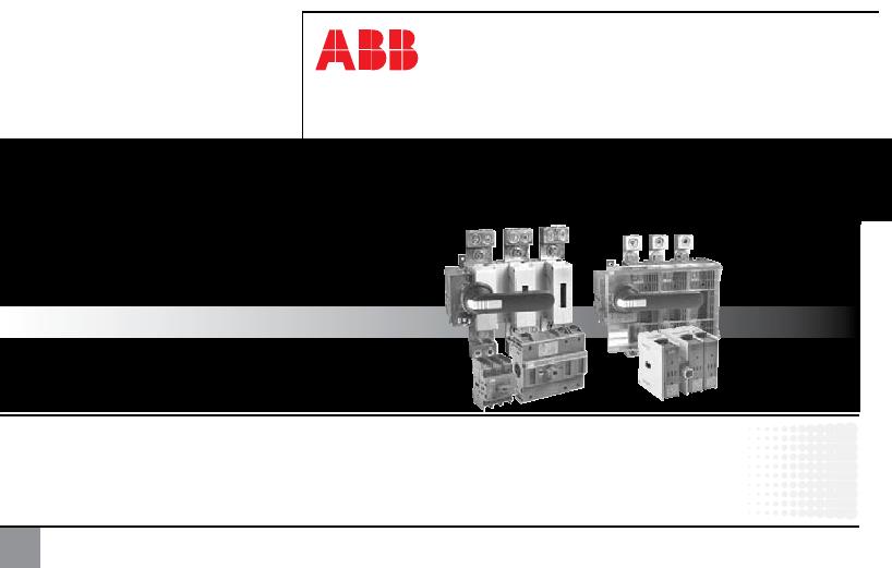 ABB OSS160T3 Term Shroud Kit OSS160T1